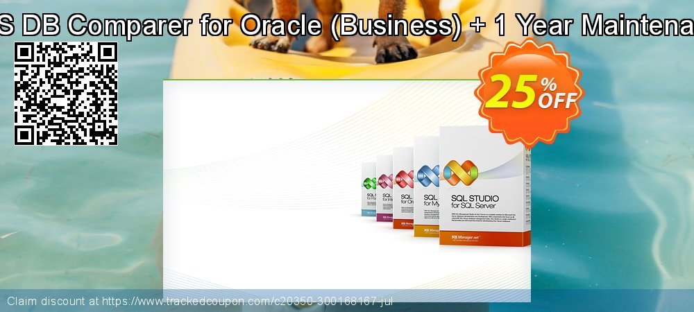 EMS DB Comparer for Oracle - Business + 1 Year Maintenance coupon on College Student deals offering discount