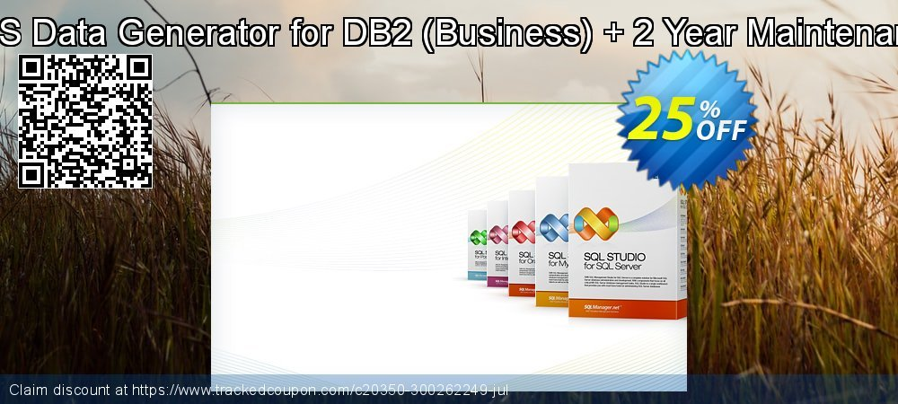 EMS Data Generator for DB2 - Business + 2 Year Maintenance coupon on Back to School promotions sales
