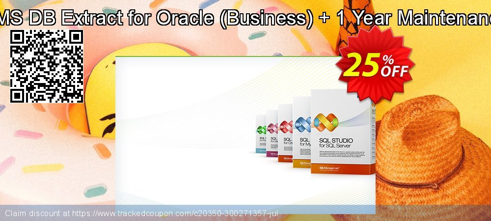 EMS DB Extract for Oracle - Business + 1 Year Maintenance coupon on College Student deals sales