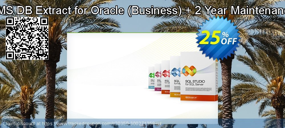 EMS DB Extract for Oracle - Business + 2 Year Maintenance coupon on Halloween offer