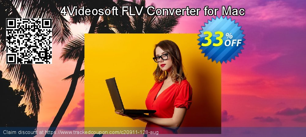 Get 30% OFF 4Videosoft FLV Converter for Mac discount