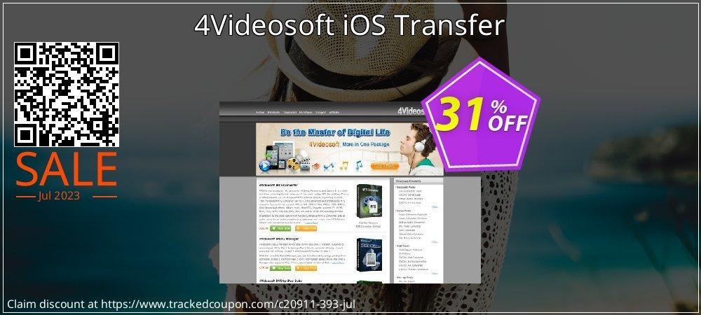 Get 30% OFF 4Videosoft iOS Transfer offering sales
