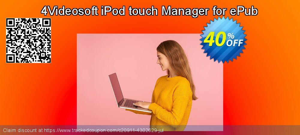 4Videosoft iPod touch Manager for ePub coupon on Summer promotions