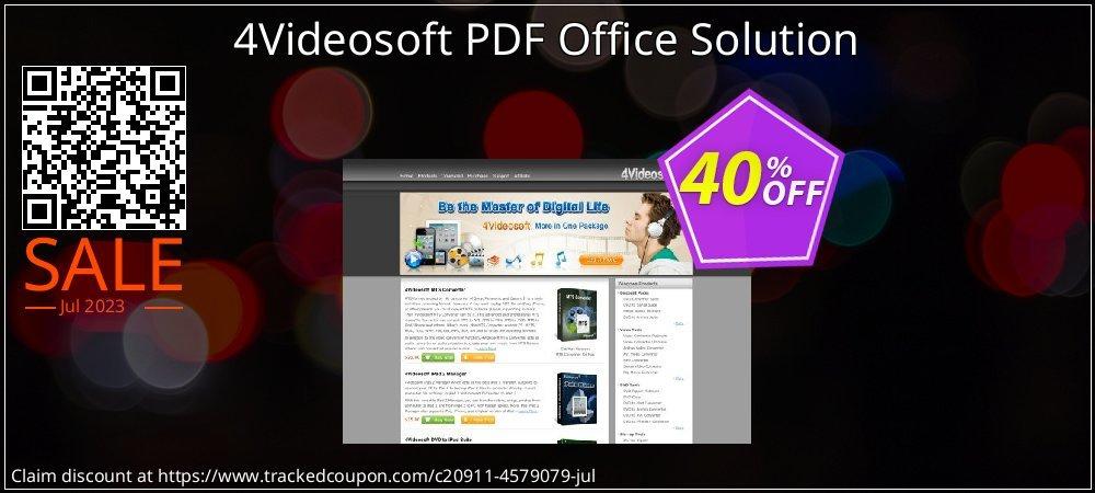 Get 40% OFF 4Videosoft PDF Office Solution offer
