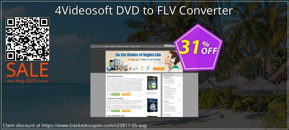 Get 30% OFF 4Videosoft DVD to FLV Converter deals