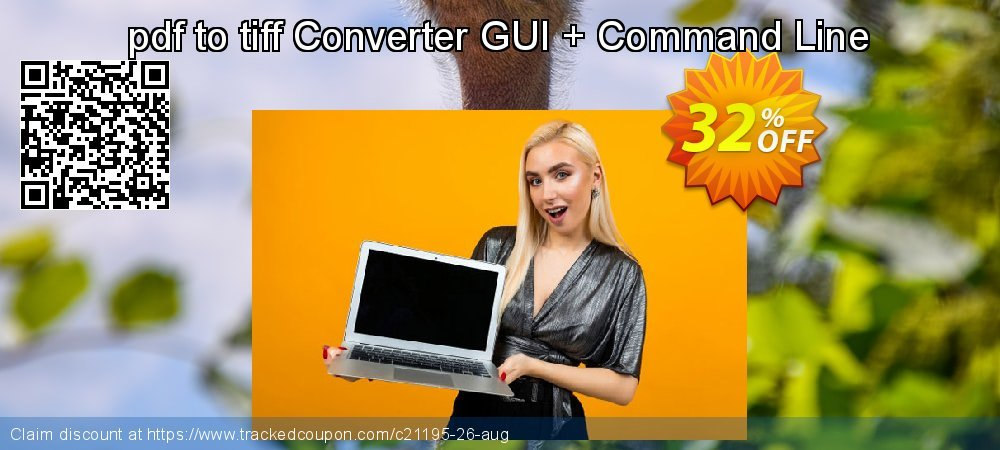 pdf to tiff Converter GUI + Command Line coupon on Back to School season offering sales