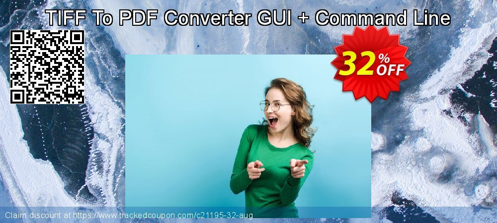 TIFF To PDF Converter GUI + Command Line coupon on University Student deals offer