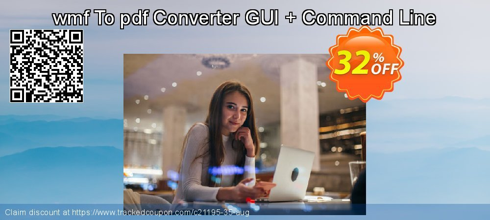 Get 30% OFF wmf To pdf Converter GUI + Command Line offering sales
