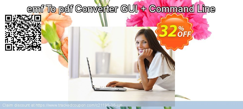 emf To pdf Converter GUI + Command Line coupon on Back to School promo super sale