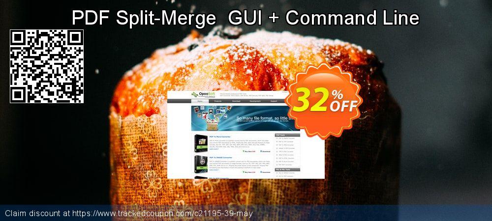 Get 30% OFF PDF Split-Merge GUI + Command Line discounts