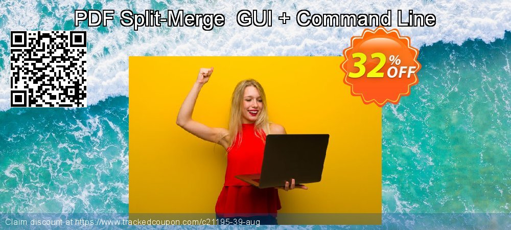 PDF Split-Merge  GUI + Command Line coupon on Back to School deals sales
