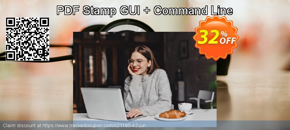 PDF Stamp GUI + Command Line coupon on Back to School coupons discount