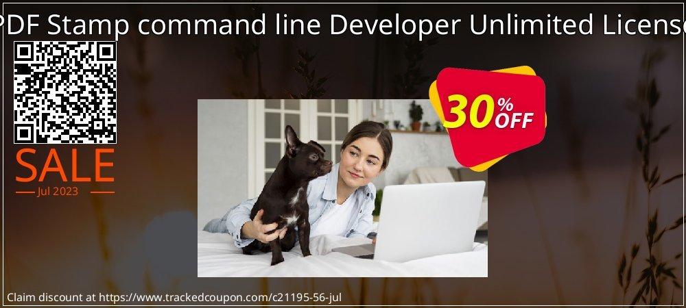 Get 30% OFF PDF Stamp command line Developer Unlimited License offering sales