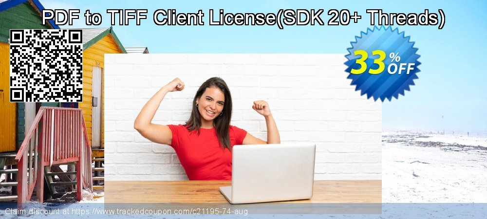 PDF to TIFF Client License - SDK 20+ Threads  coupon on Back to School shopping promotions