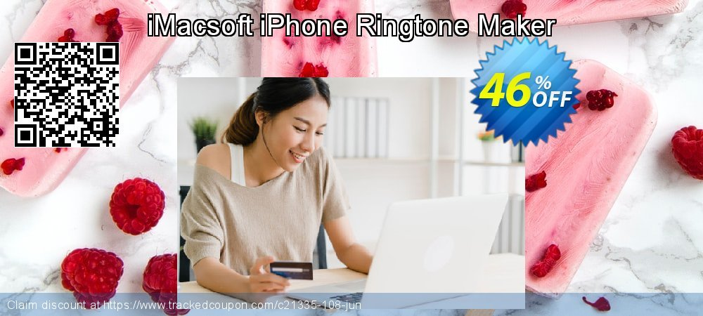 Get 40% OFF iMacsoft iPhone Ringtone Maker offering sales