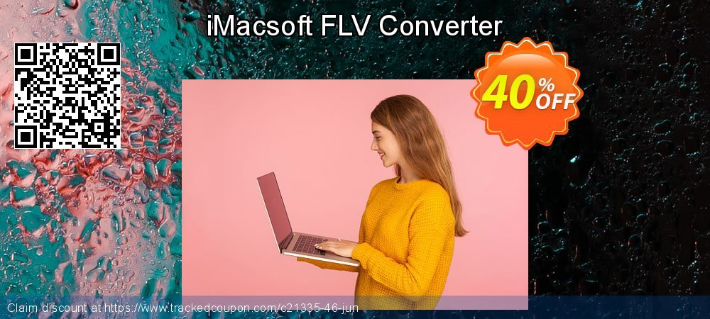 iMacsoft FLV Converter coupon on Happy New Year offering sales