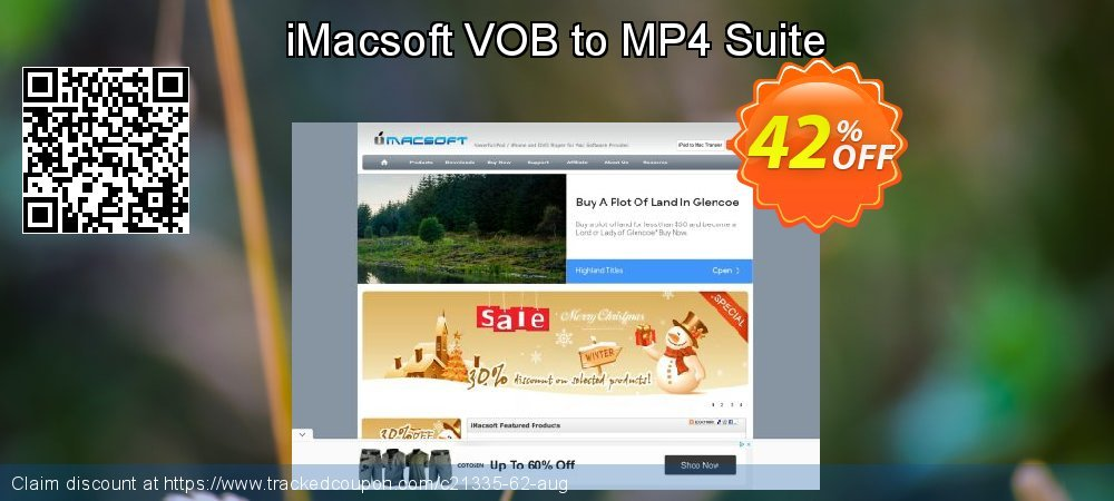 iMacsoft VOB to MP4 Suite coupon on Happy New Year discount