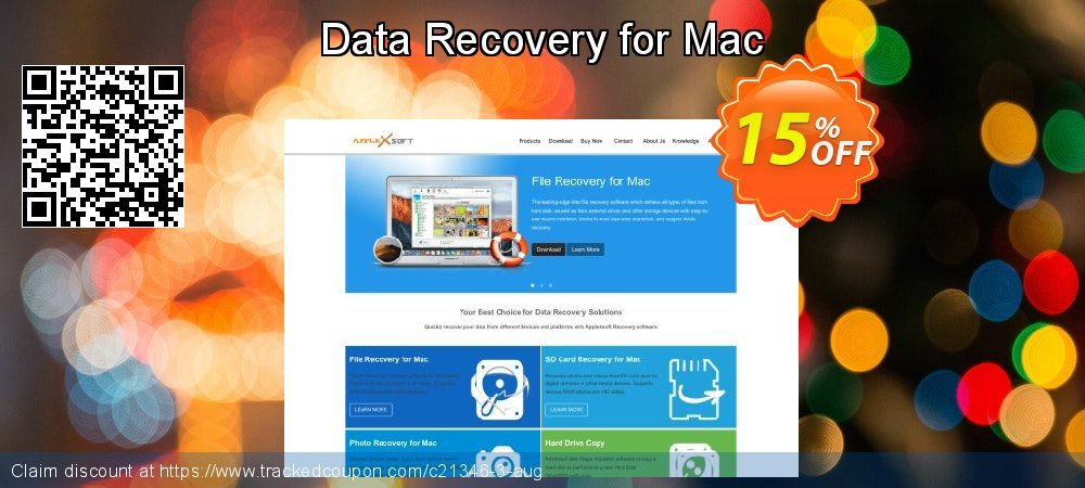 Claim 15% OFF Data Recovery for Mac Coupon discount March, 2019