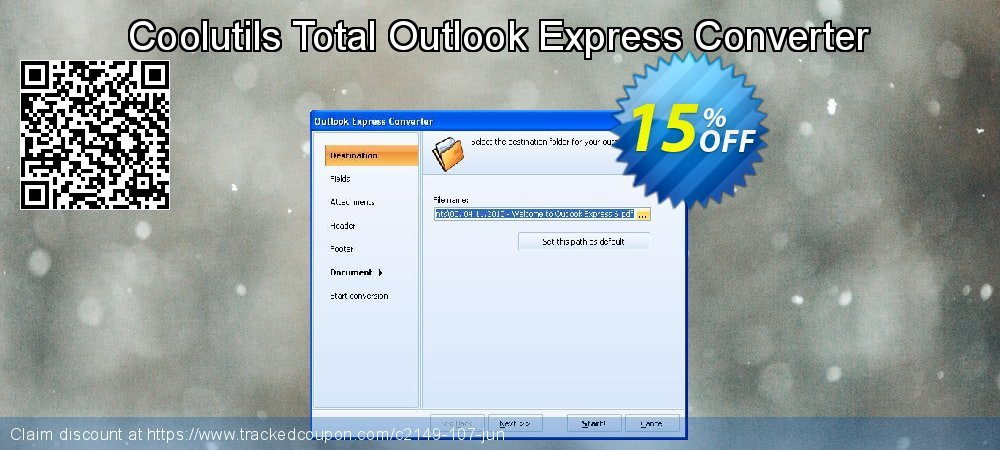 Claim 15% OFF Coolutils Total Outlook Express Converter Coupon discount February, 2020