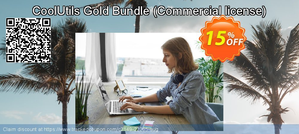 CoolUtils Gold Bundle - Commercial license  coupon on National Singles Day offering discount