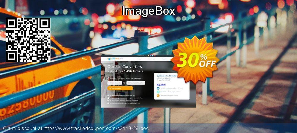 Get 30% OFF ImageBox offering deals