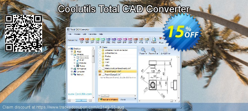 Total CAD Converter coupon on Valentine's Day discount
