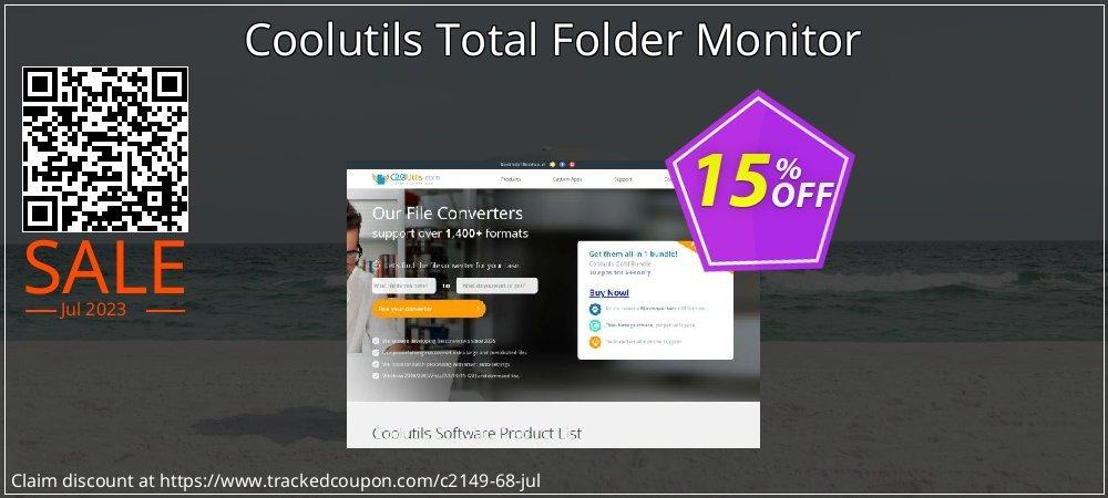 Get 30% OFF Total Folder Monitor promo sales