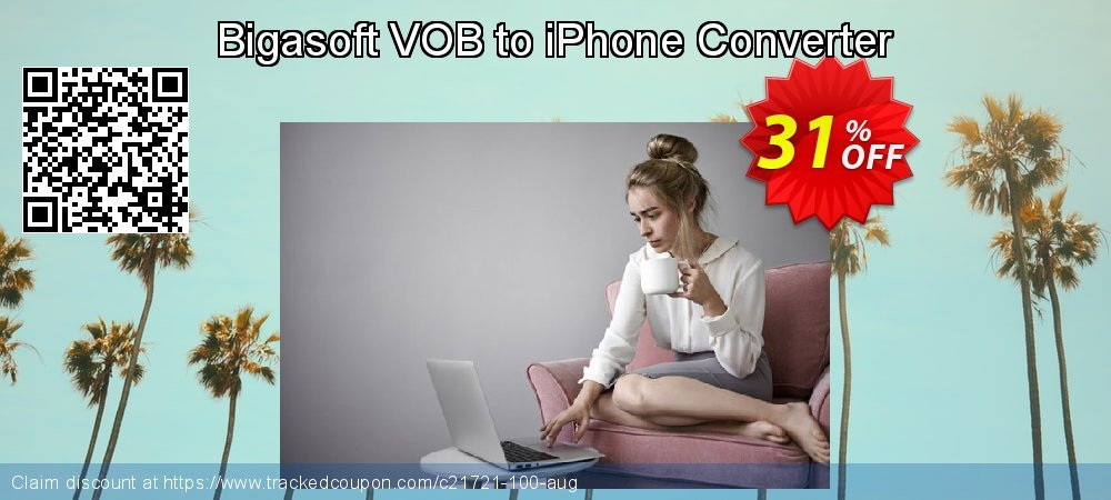 Bigasoft VOB to iPhone Converter coupon on Thanksgiving offering sales