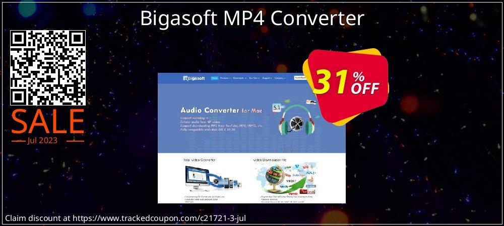 Get 30% OFF Bigasoft MP4 Converter offering sales