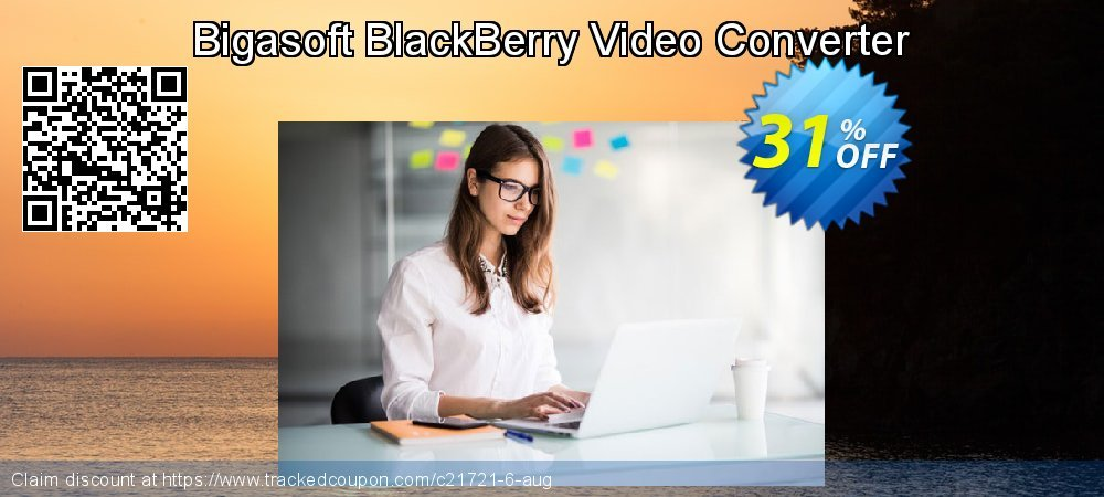 Get 30% OFF Bigasoft BlackBerry Video Converter offering sales