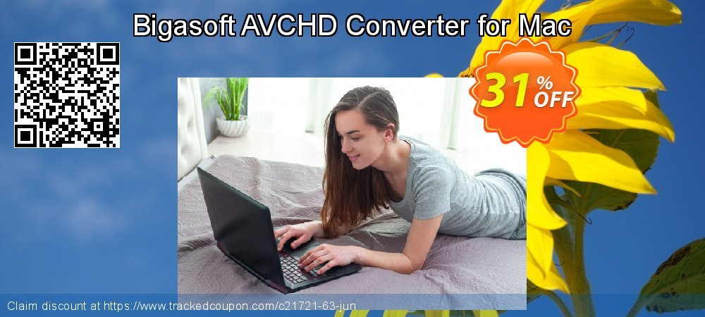 Bigasoft AVCHD Converter for Mac coupon on Christmas Day offering sales