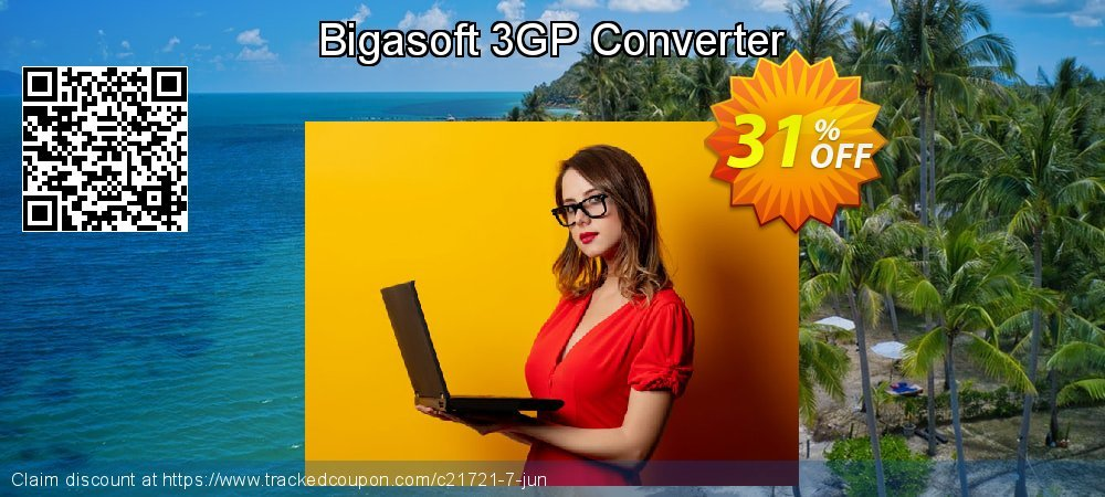 Bigasoft 3GP Converter coupon on New Year's Day deals