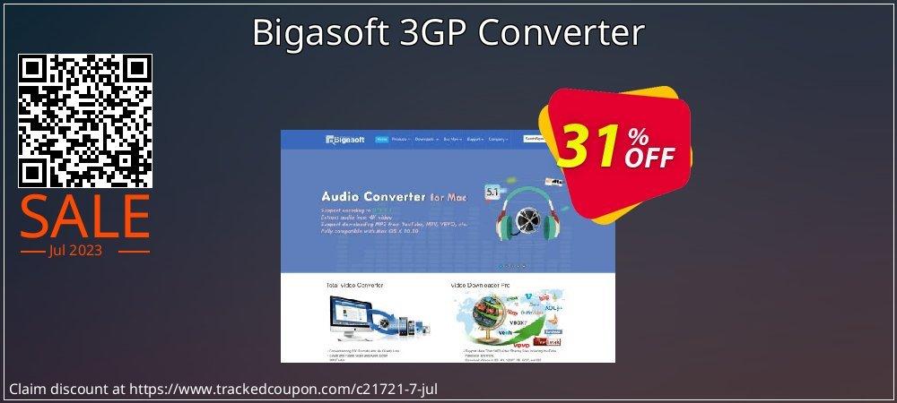 Bigasoft 3GP Converter coupon on Black Friday offer