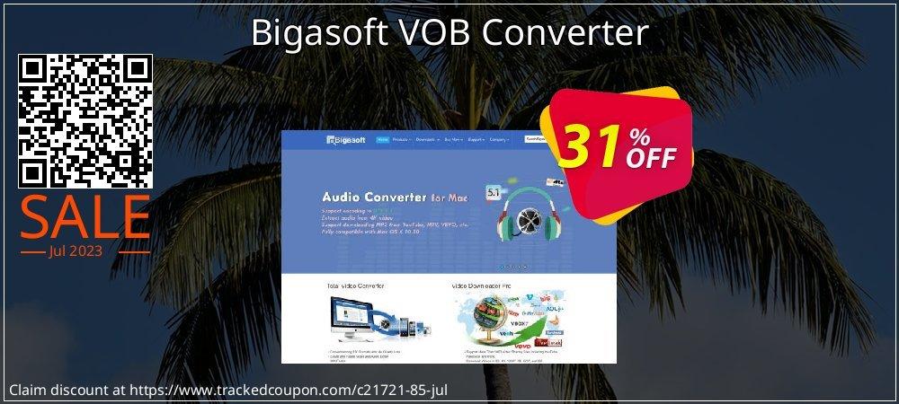 Bigasoft VOB Converter coupon on Halloween discounts