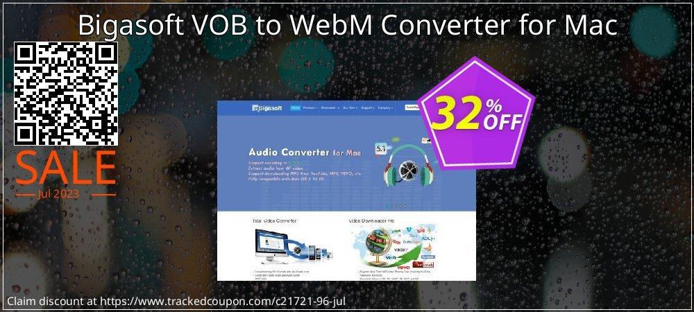 Bigasoft VOB to WebM Converter for Mac coupon on Halloween sales