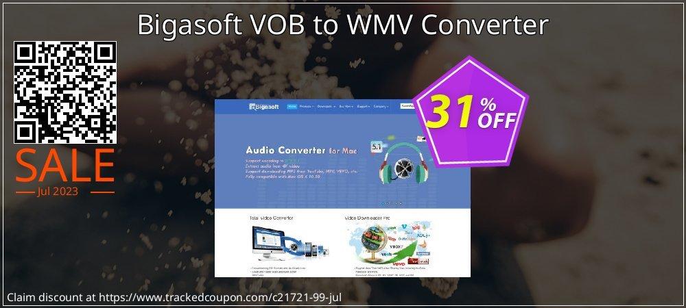Bigasoft VOB to WMV Converter coupon on Halloween discount