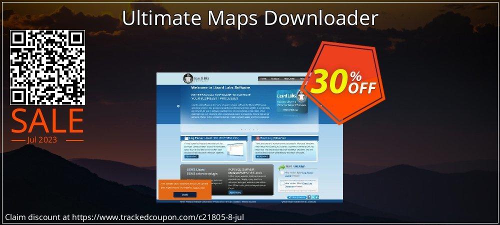 Get 30% OFF Ultimate Maps Downloader sales