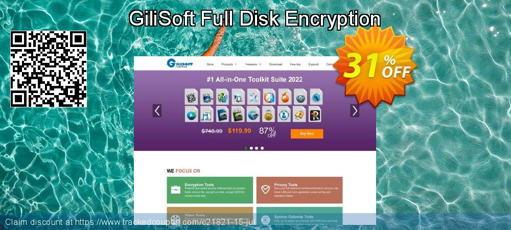 GiliSoft Full Disk Encryption coupon on Halloween deals