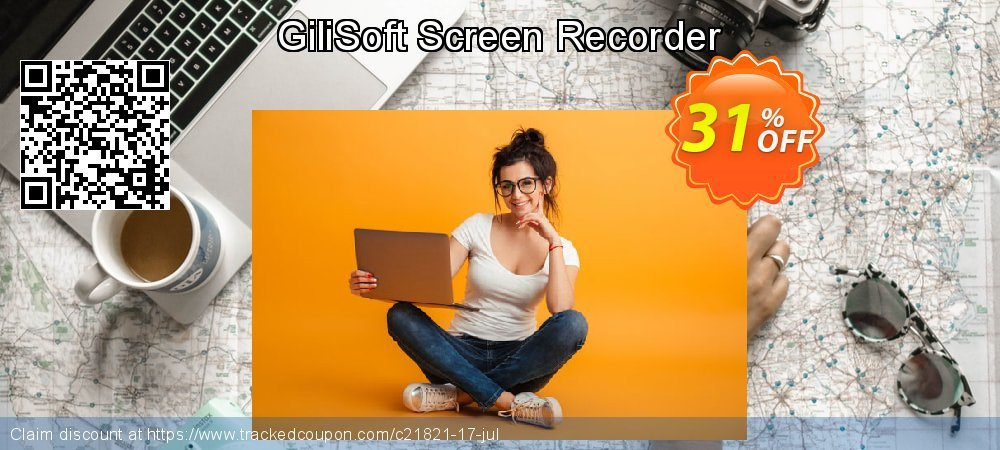 GiliSoft Screen Recorder coupon on Halloween discount
