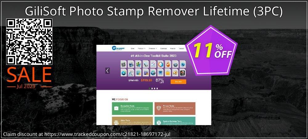 Get 10% OFF GiliSoft Photo Stamp Remover Lifetime (3PC) sales