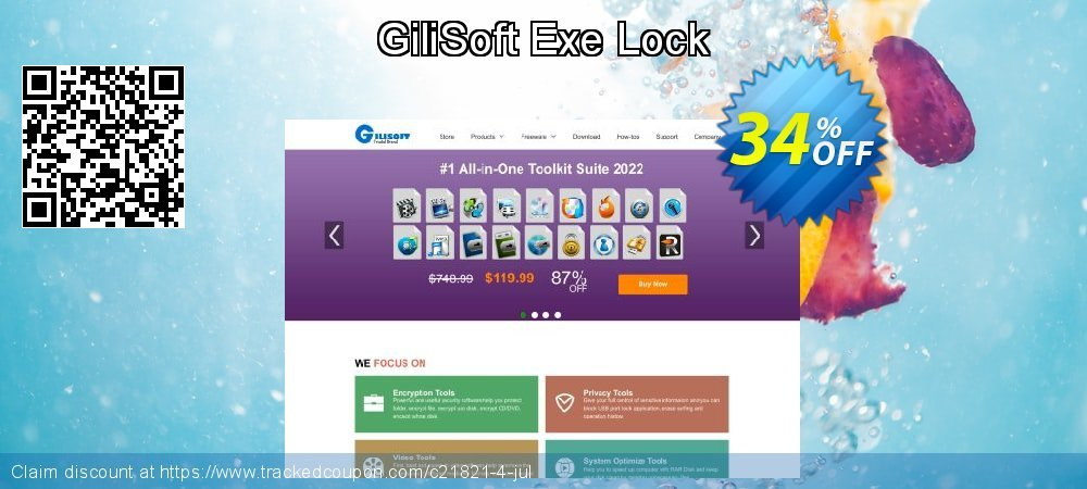 GiliSoft Exe Lock coupon on Halloween promotions