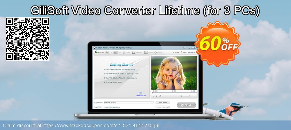 GiliSoft Video Converter Lifetime - for 3 PCs  coupon on Camera Day offer