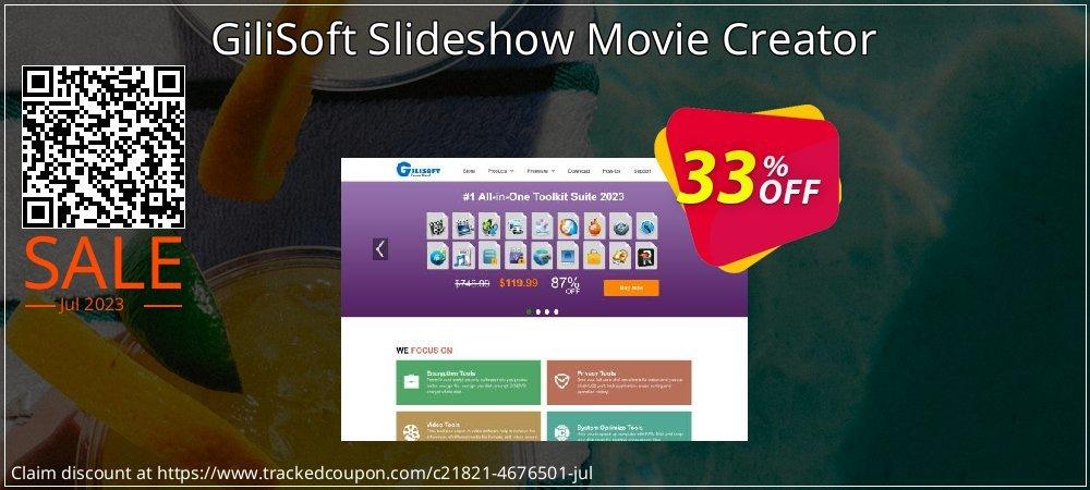 GiliSoft Slideshow Movie Creator coupon on Black Friday discounts