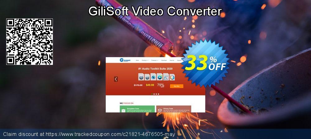 Get 30% OFF GiliSoft Video Converter offering deals