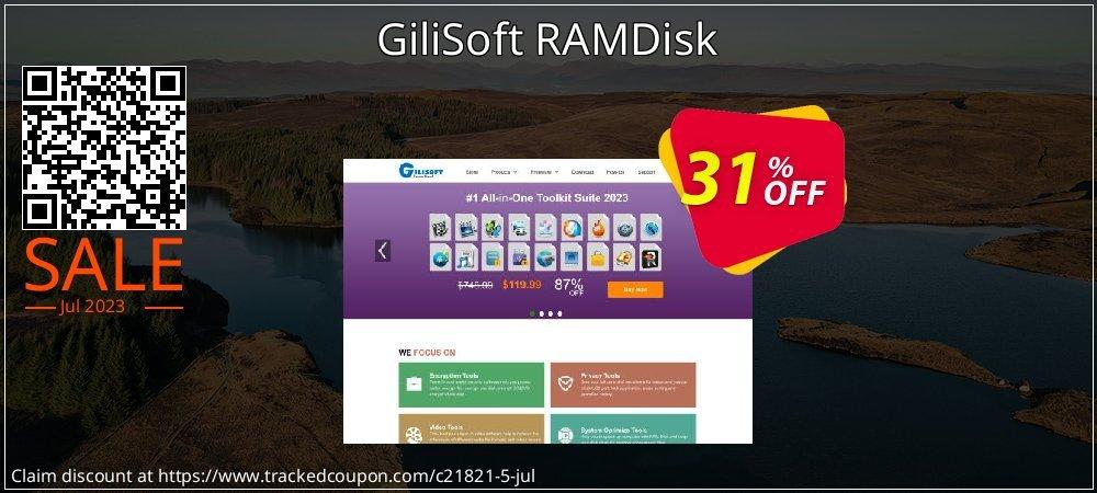 GiliSoft RAMDisk coupon on Halloween sales