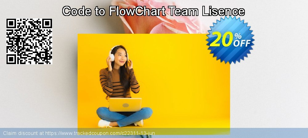 Get 20% OFF Code to FlowChart Team Lisence offering discount