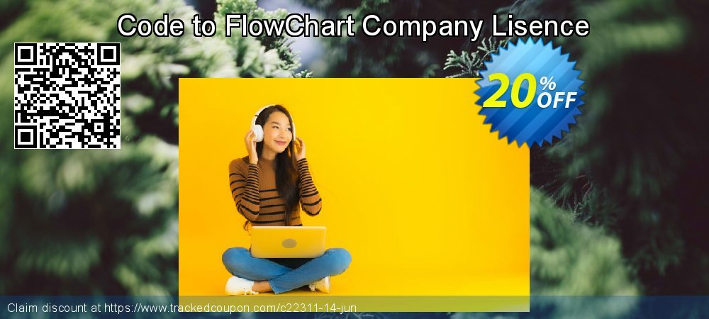 Code to FlowChart Company Lisence coupon on Halloween offering discount