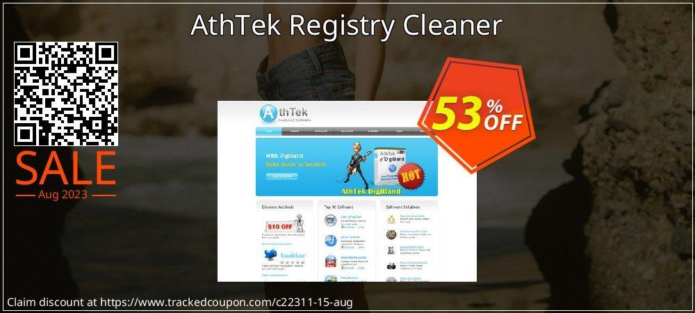 Get 50% OFF AthTek Registry Cleaner promo