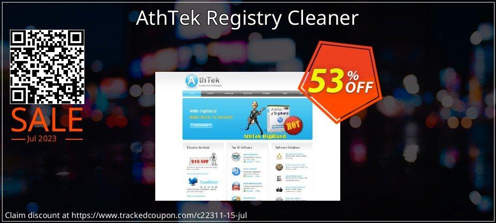 AthTek Registry Cleaner coupon on Halloween offering sales