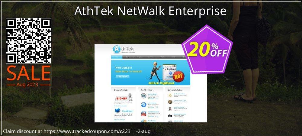 Get 20% OFF AthTek NetWalk Enterprise sales